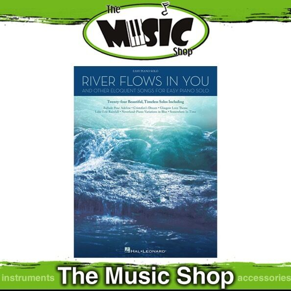 New River Flows in You & Other Eloquent Songs Music Book for Easy Piano  Solo 888680027896 | eBay