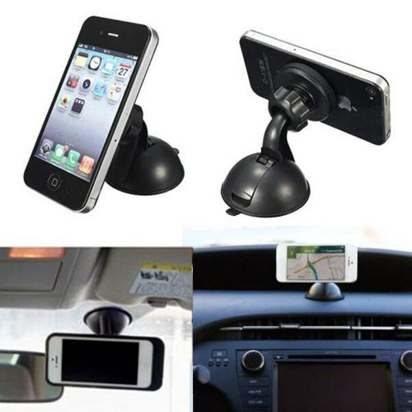 car windshield dashboard magnetic suction cup stand mount