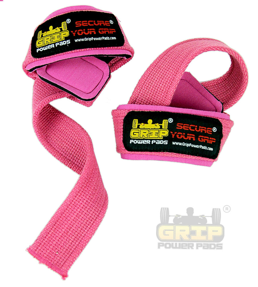 Deluxe Weight Lifting Gloves St12007: PINK WOMEN Classic Heavy Duty Neoprene Padded Weight