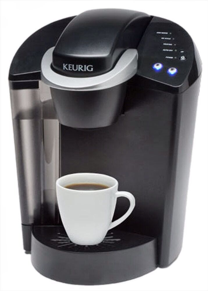 Coffee Maker Cup Size : Keurig Elite Single Cup Automatic Coffee Maker B40 K45 3 Cup Sizes Black eBay