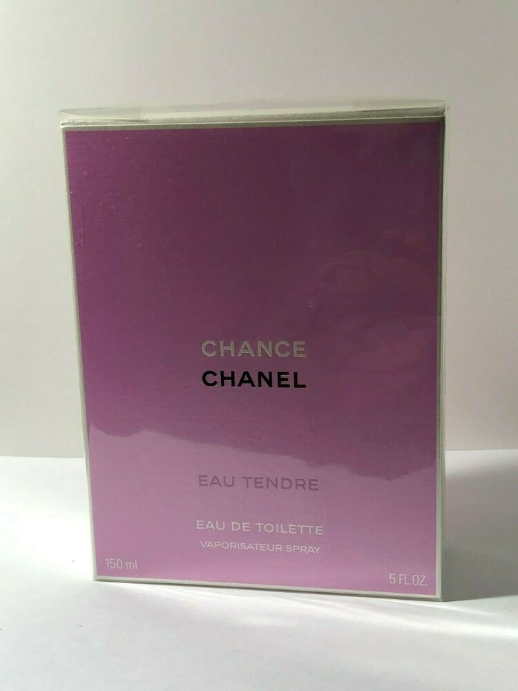 CHANCE EAU TENDRE BY CHANEL EAU DE TOILETTE SPRAY 150 ML / 5 OZ. FACTORY SEALED | eBay