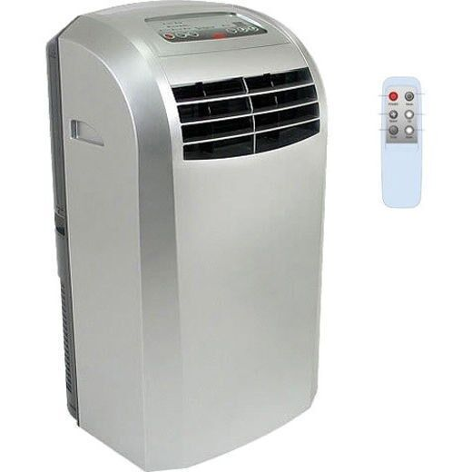 Portable Heat And Air Units : Portable btu ac with heater cooling fan floor