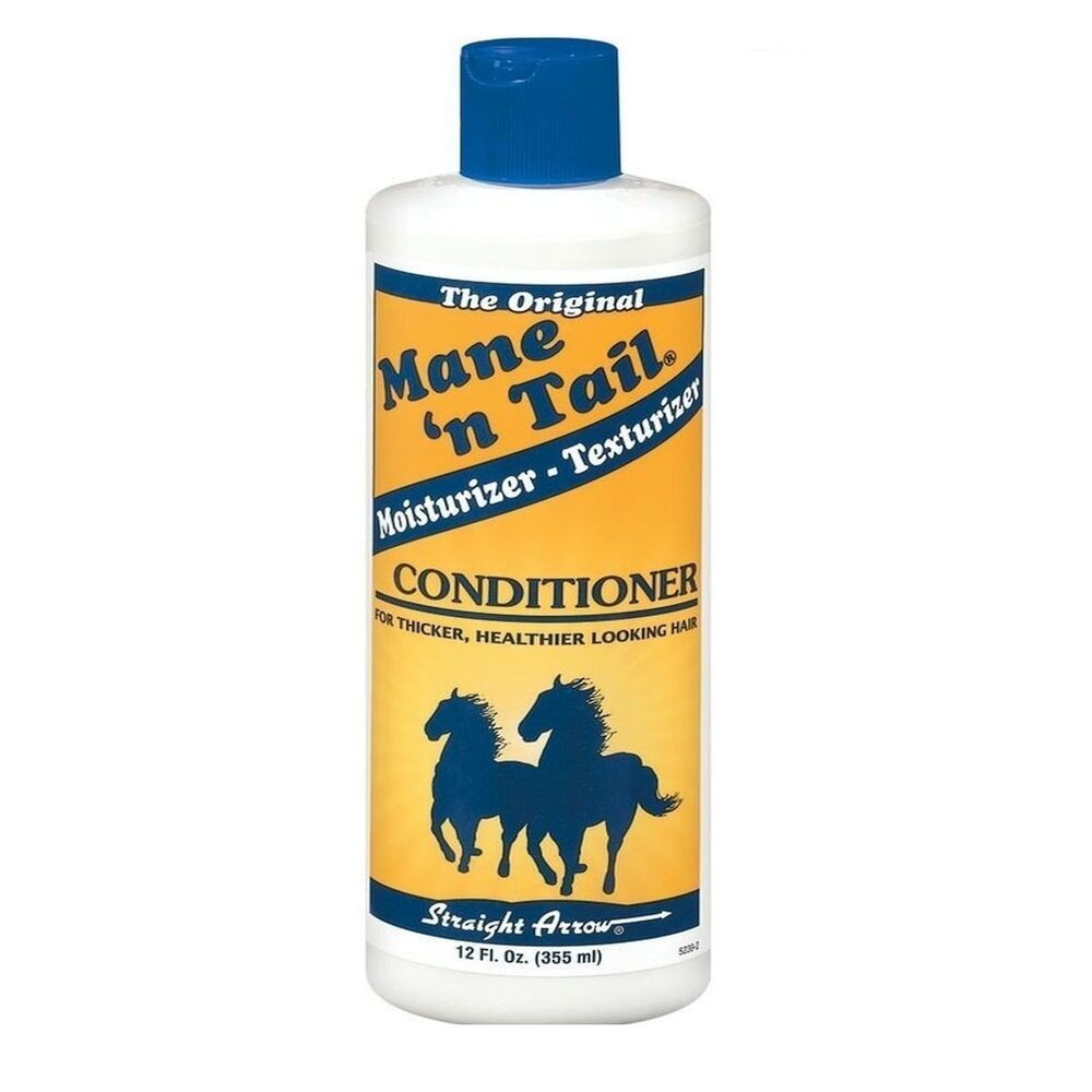 Mane and tail for thicker hair