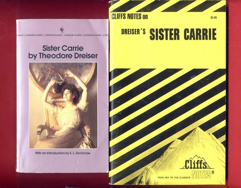 Cultural and Historical Contexts for Sister Carrie