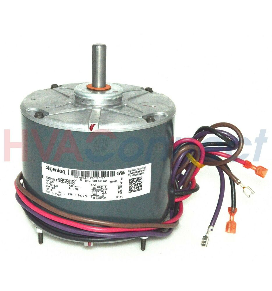 Trane am standard condenser fan motor 1 5 hp d146981p01 ebay for American standard fan motor