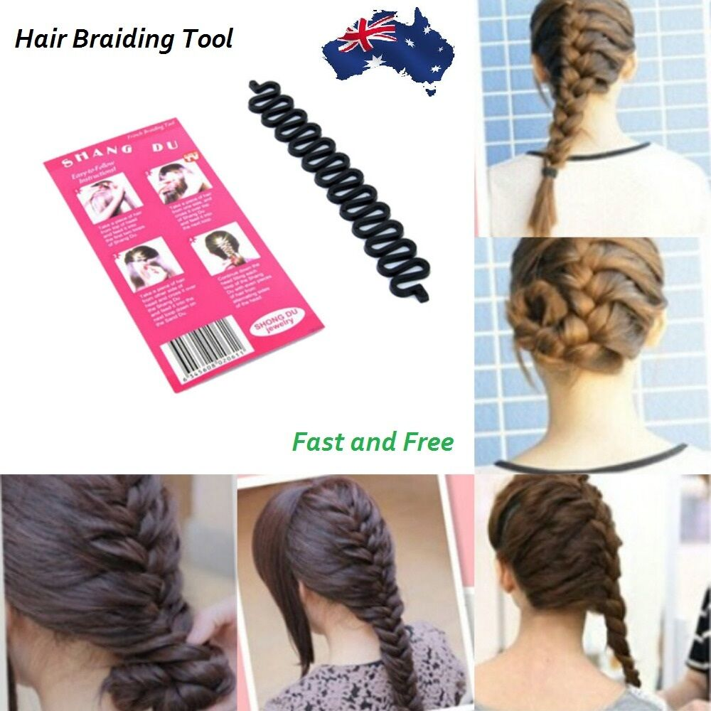 hair style tool fish bone hair braiding braid tool roller magic 2654 | s l1000