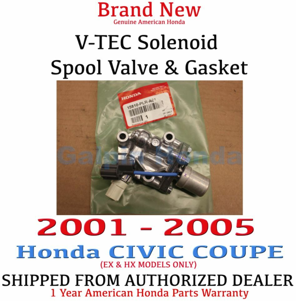 2001-2005 Honda CIVIC COUPE VTEC Solenoid Spool Valve With