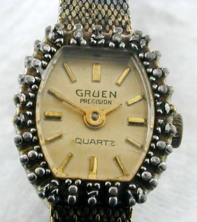 vintage women 39 s gruen precision wrist watch ebay. Black Bedroom Furniture Sets. Home Design Ideas