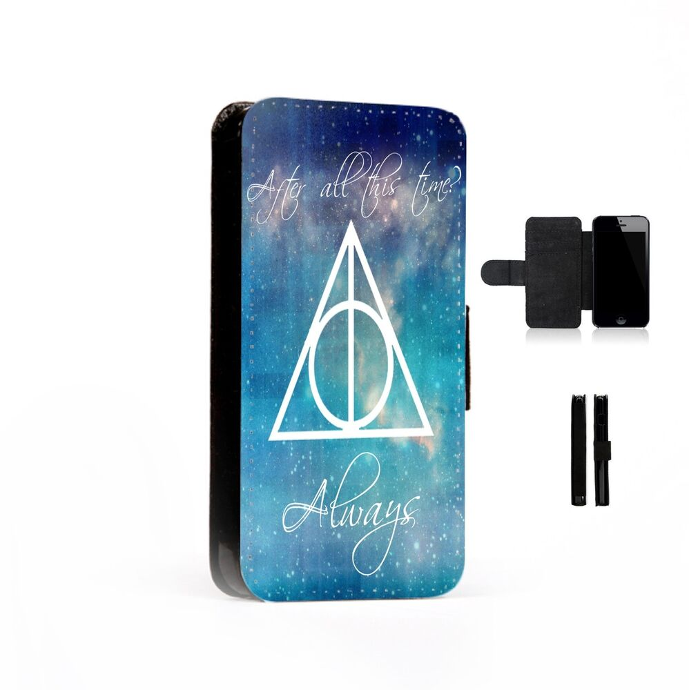 Harry Potter Iphone Flip Case