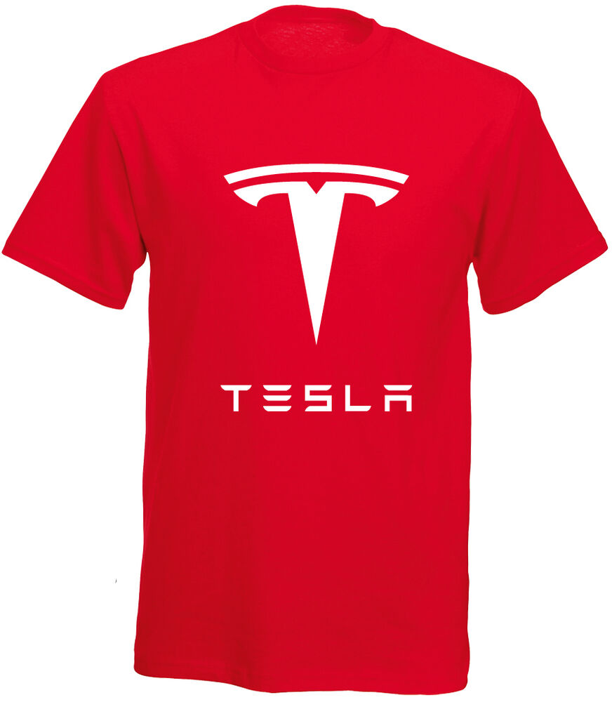 tesla motor t shirt graphic tee free shipping size xs. Black Bedroom Furniture Sets. Home Design Ideas