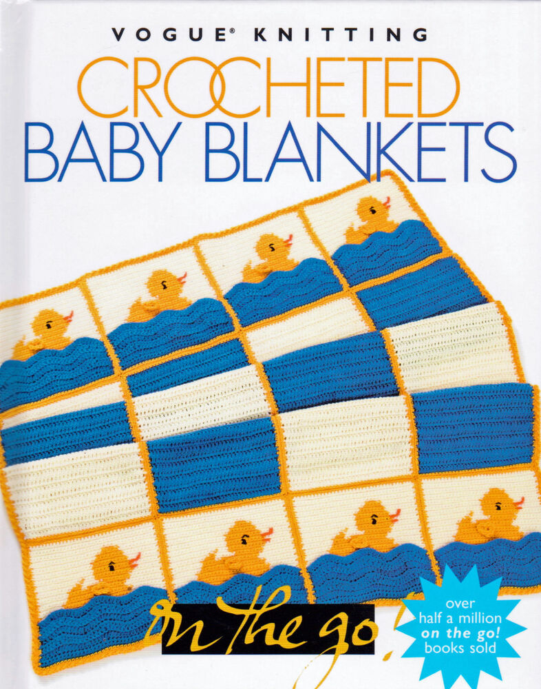 24 Crocheted Baby Patterns Blanket Throw Made W Hook