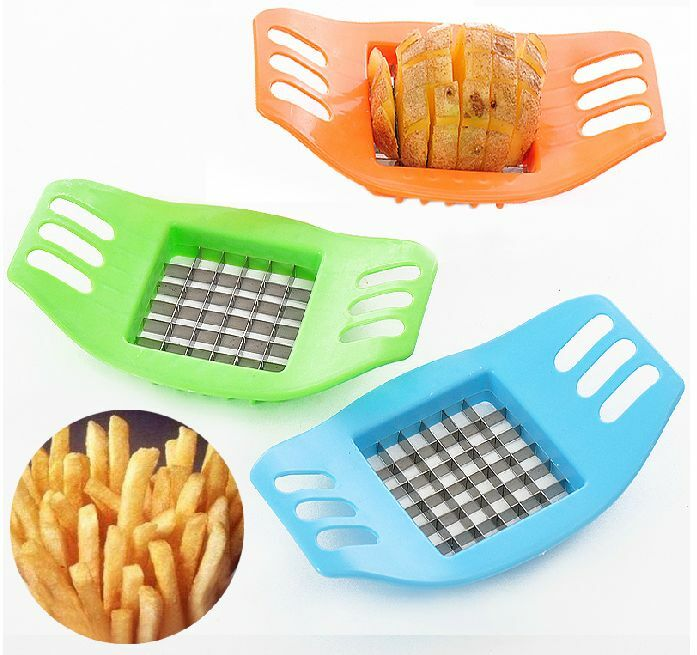 Potatoes Strips Cutter French Fries Tools Kitchen Gadgets