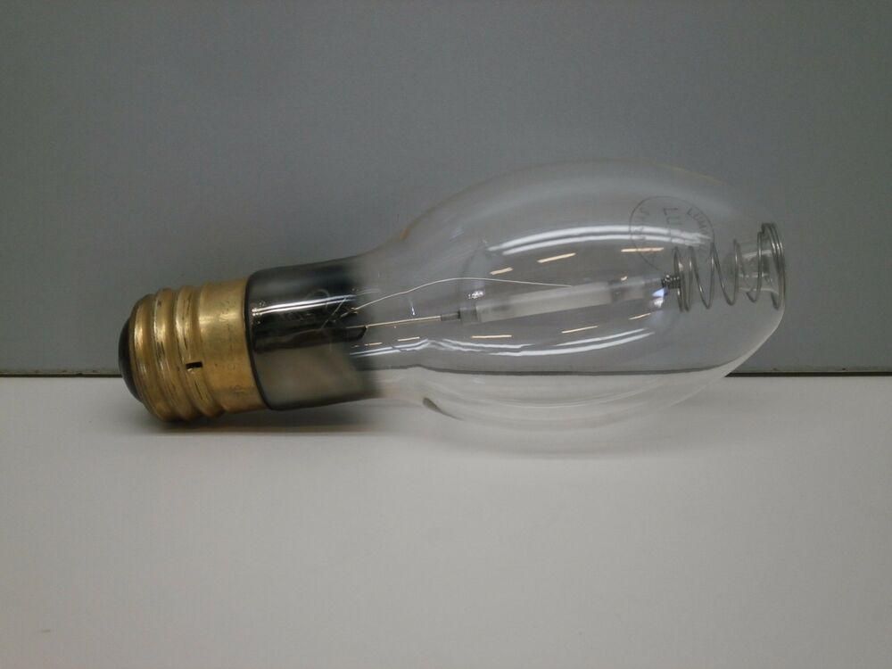Vintage Sylvania Lu100 100 Watt Hps High Pressure Sodium Lamp Light Bulb 100w Ebay