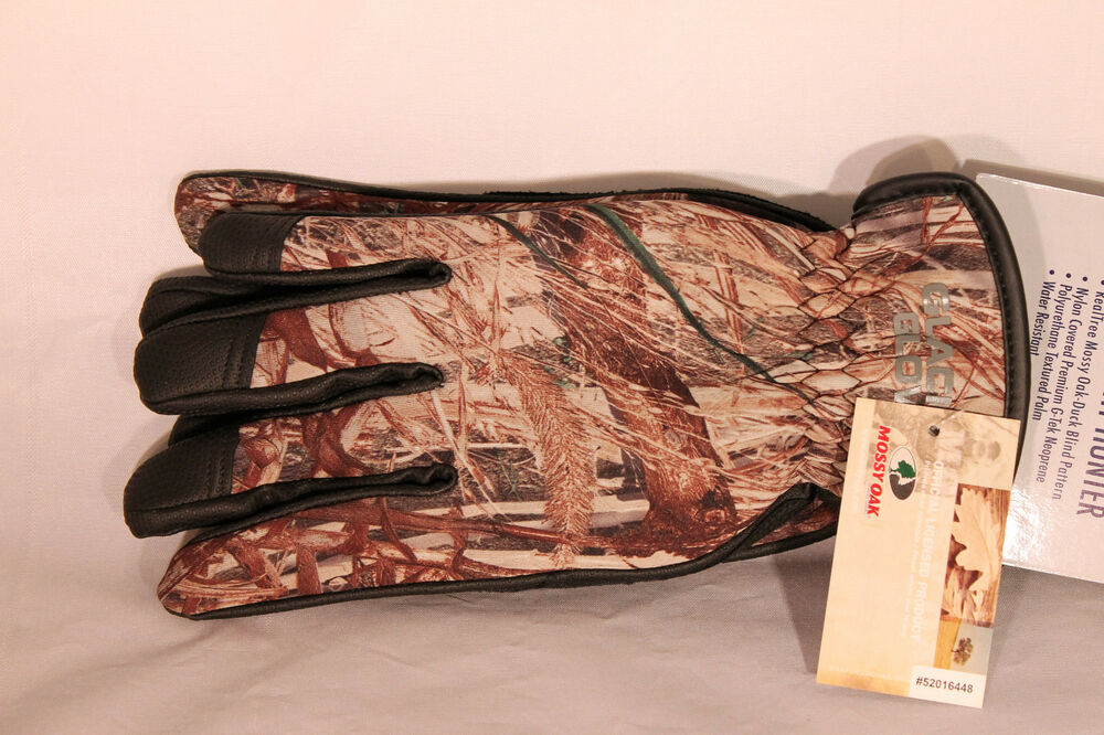 Mossy Oak Duck Blind Camo Lightweight Hunting Gloves For
