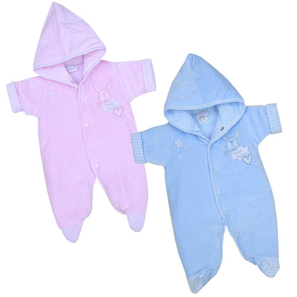 e1aa0048e Details about BabyPrem Preemie Baby Girls Boys Clothes Pramsuit Snowsuit  All in One Coat 3-7lb