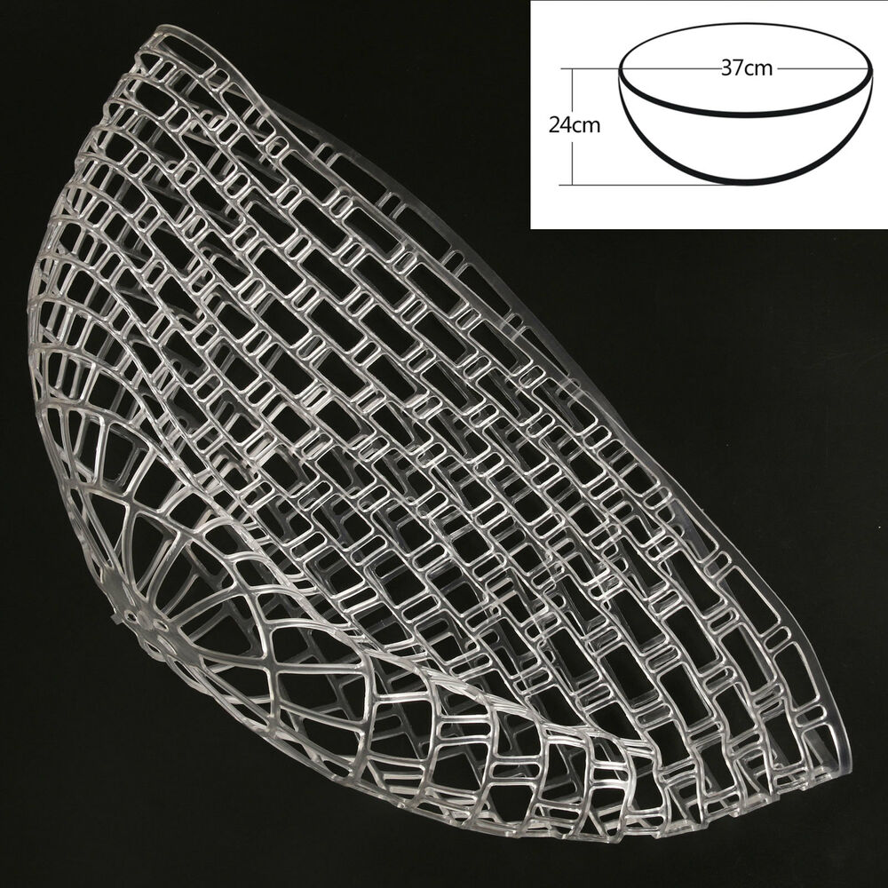 Clear rubber replacement net for fly fishing landing net for Rubber fishing net
