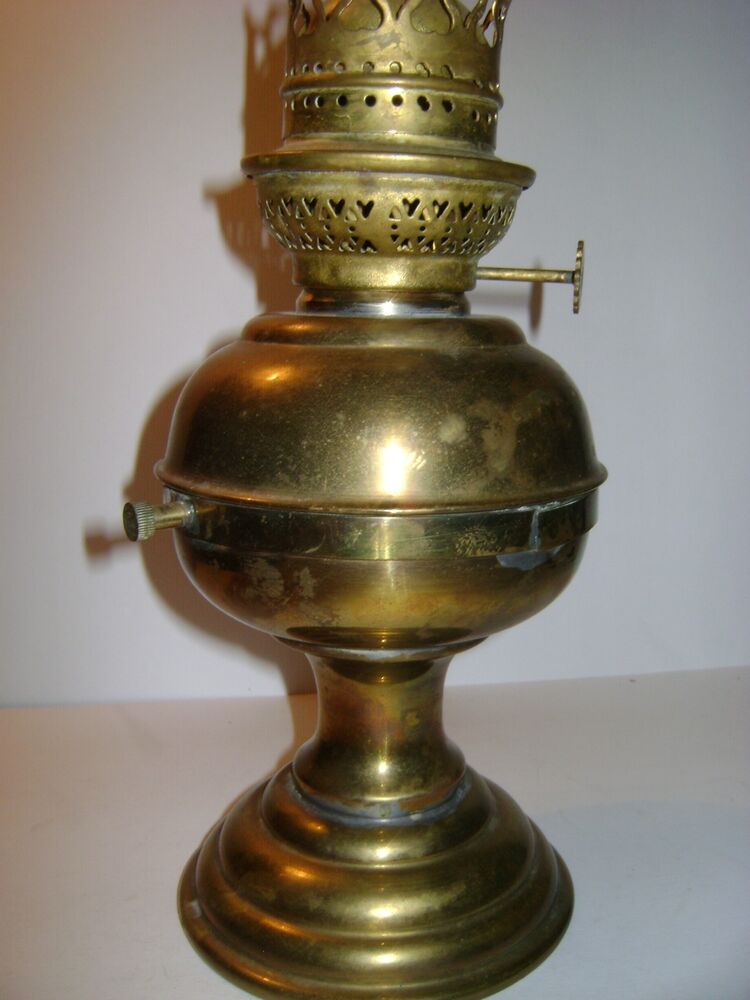 Vintage Sherdoods Ltd B Ham Oil Lantern Lamp Brass