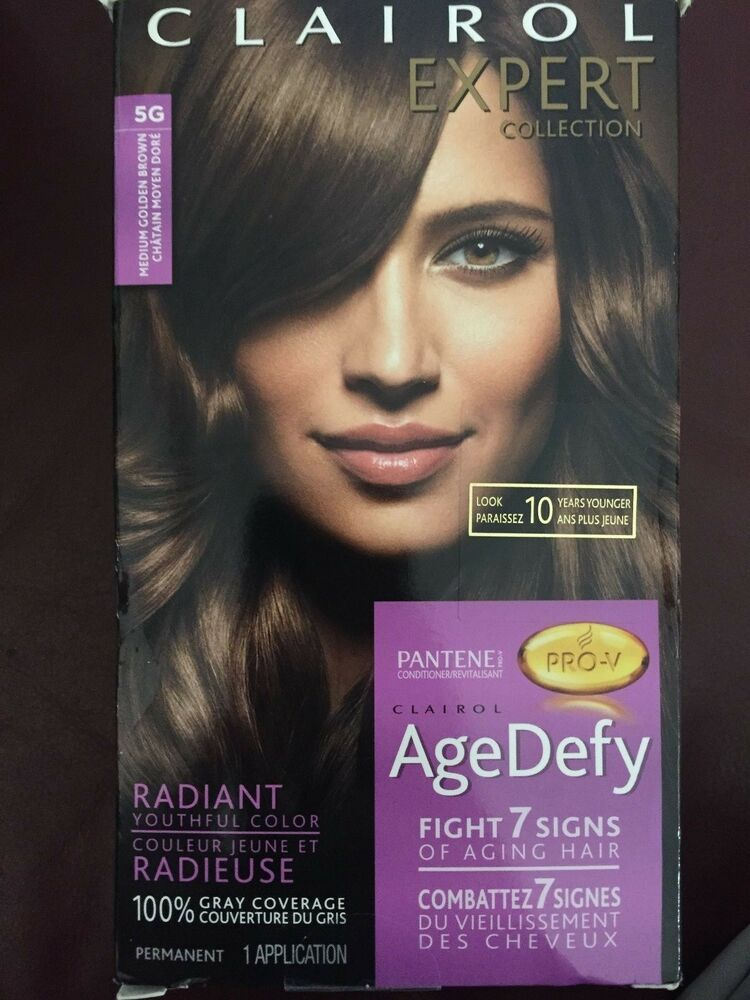 Lasting Results Recolor your hair with Clairol Expert Collection Age Defy hair color in Light Ash Blonde every 6 to 8 weeks. In between colorings, keep your Light Ash Blonde color looking fresh and your hair feeling healthy with an effective color-care combo.