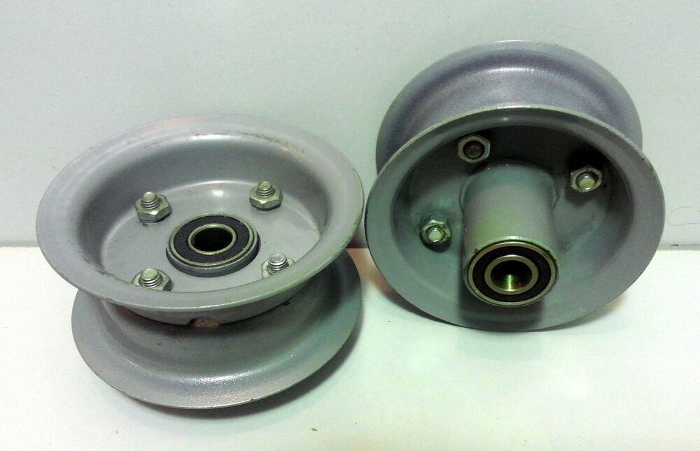 Pulley W Ball Bearings For 5 8 Quot Shaft Ebay