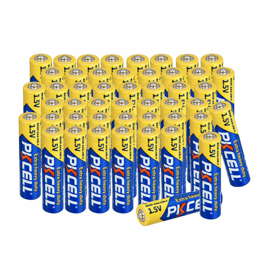 100pcs Wholesale Bulk Lot Super Heavy Duty Aaa 1 5v