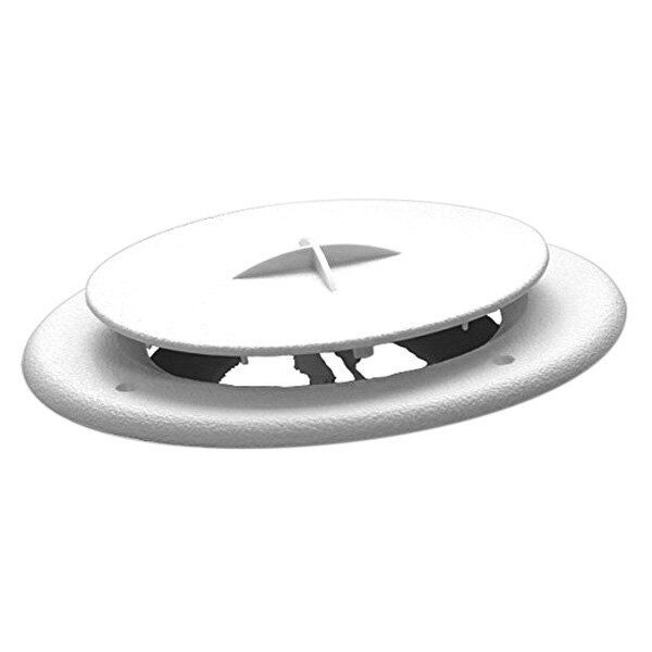 White Rv Camper Trailer Round Ceiling Air Conditioner Ac