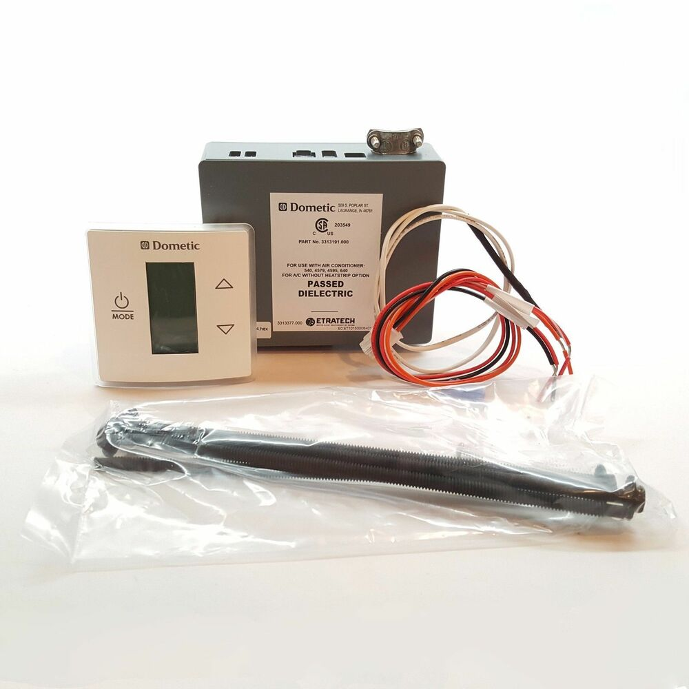 Dometic Single Control Kit Lcd Cool Furnace White 3313189000 Zone Thermostat Wiring Diagram 3316230000 34400661 Ebay