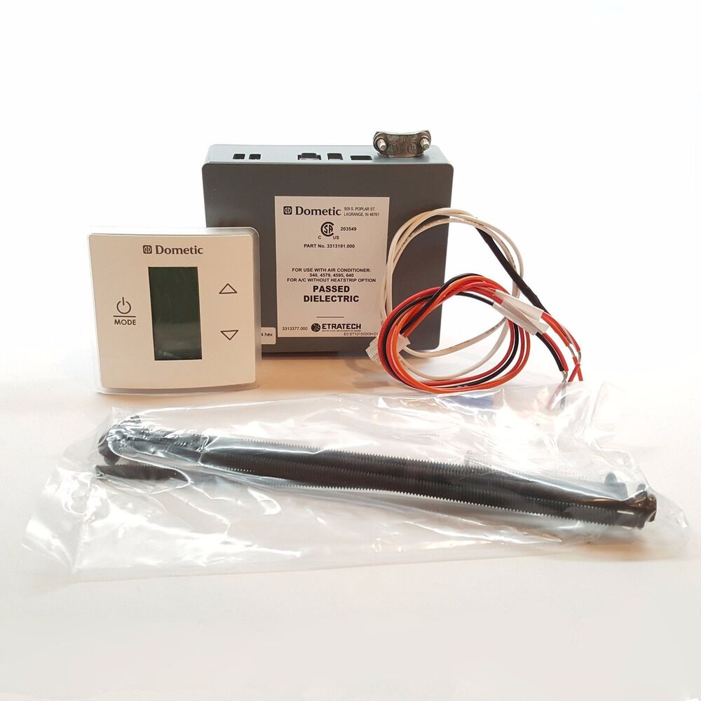 Wiring Diagram For Dometic Single Zone Lcd Thermostat : New dometic single control kit lcd cool furnace white
