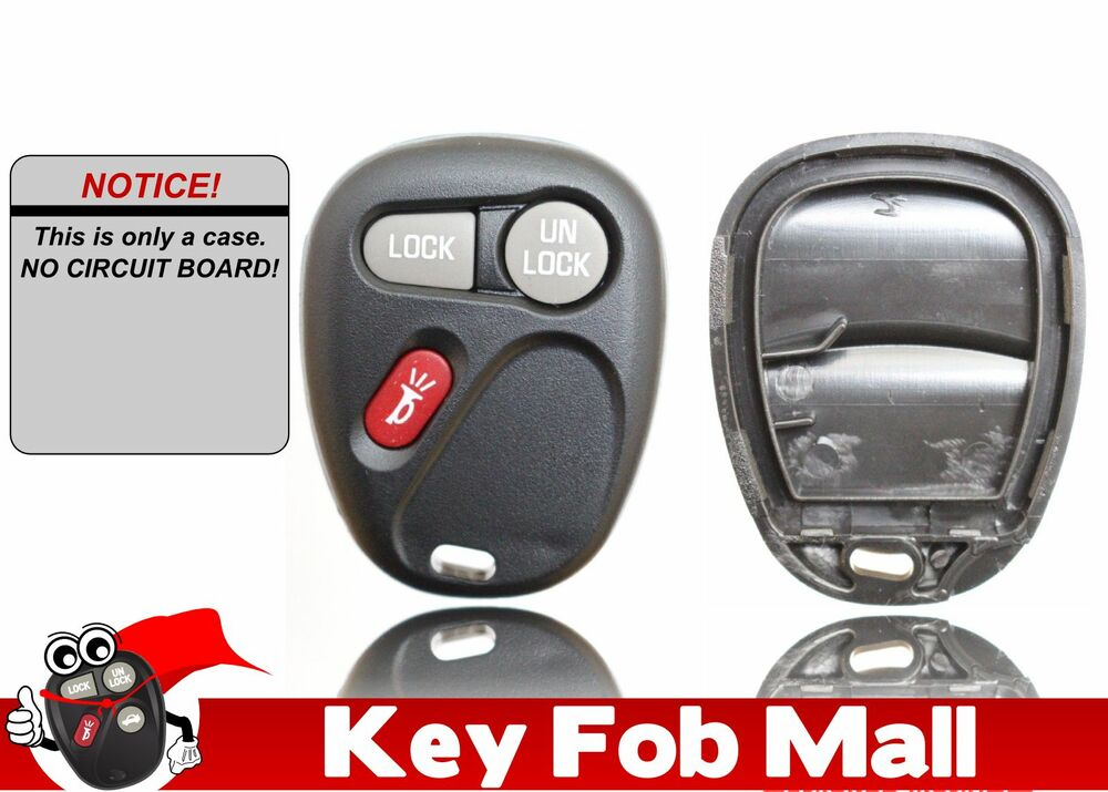 New Keyless Entry Key Fob Remote Case Only For A 2002 Chevrolet Suburban 1500