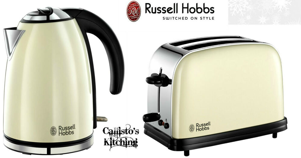 Kettle And Toaster Sets Russell Hobbs Colours 2 Slice