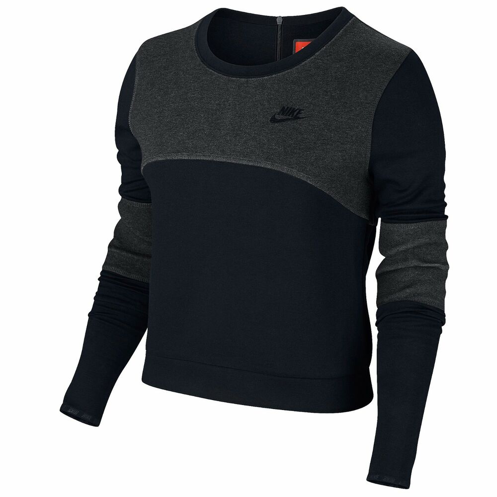 low priced f55fa bd647 Details about Nike Women s Tech Fleece Crew - 3MM - Size XL - NWT