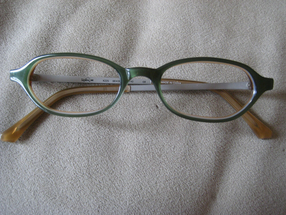 Kipling Glasses Frame : KIPLING Designer EYEGLASS FRAMES Women Rectangular Green ...