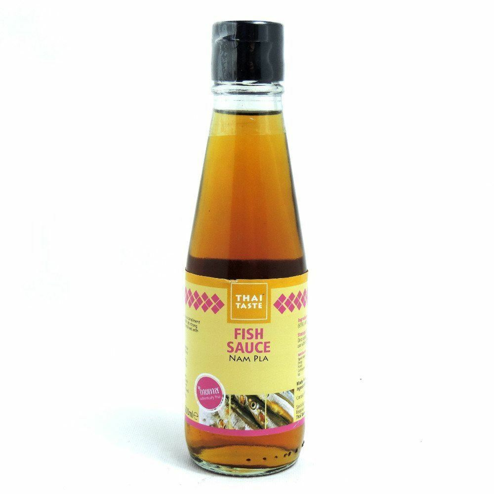 Thai taste fish sauce nam pla 200ml ebay for Thai kitchen fish sauce