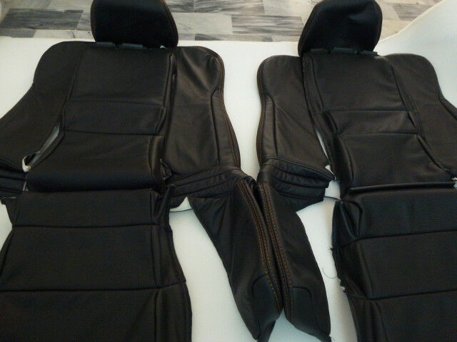 Acura Nsx Genuine Perforated Leather Seat Covers Black Ebay