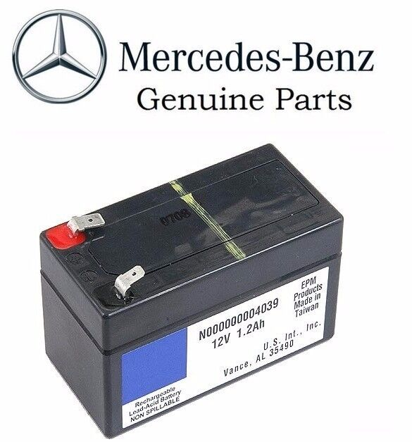 new mercedes genuine w164 w251 gl ml r class auxiliary battery 1 2ah ebay. Black Bedroom Furniture Sets. Home Design Ideas