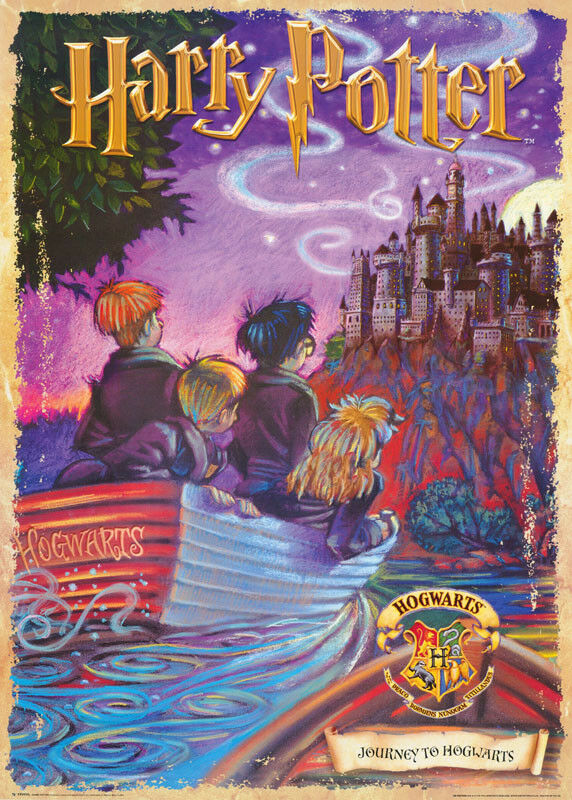 Harry Potter Book Poster : Poster movie repro drawing harry potter journey free