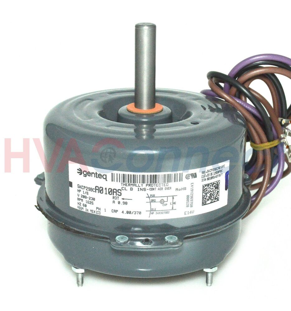 Ge Condenser Fan Motor 1 6 Hp 208 230v 5kcp29bca010as Ebay