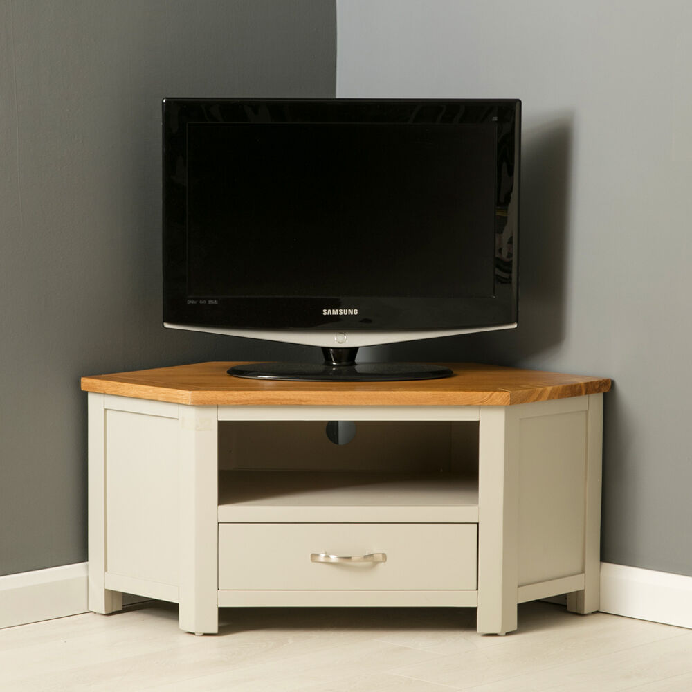 mullion painted corner tv stand oak corner tv unit. Black Bedroom Furniture Sets. Home Design Ideas