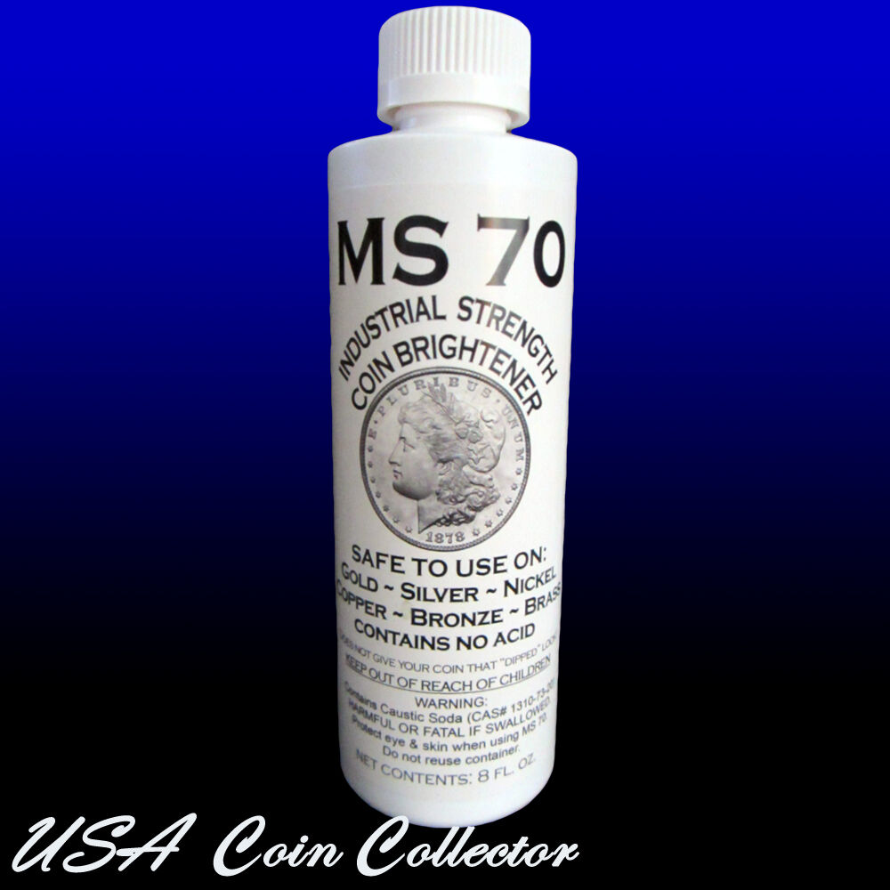 Ms 70 Coin Brightener Amp Cleaner For Gold Silver Copper