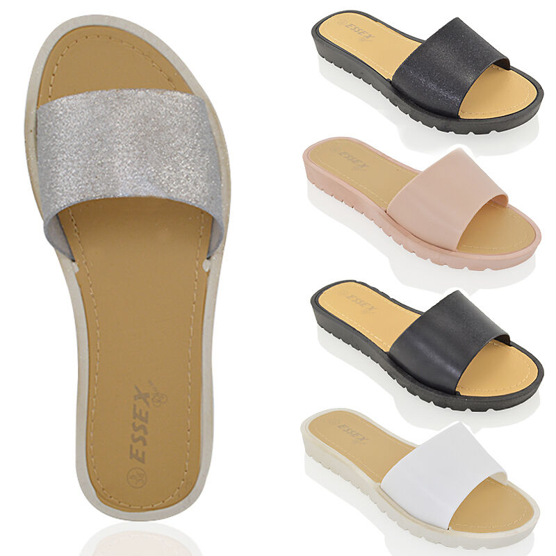 Perfect A Selection Of Four Pairs Of Womens Sandals And Shoes This Collection Features A Pair Of Block  This Collection Includes A Pair Of Ecru Canvas Slip On Mules With A Red Beaded Coral Pattern Marked Twos Company Made In India L