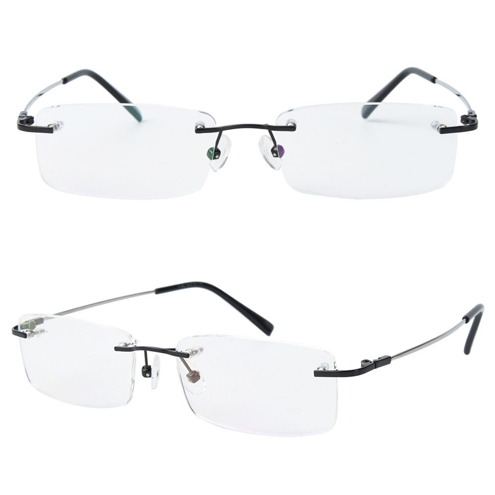 Rimless Eyeglass Frames For Men David Simchi Levi