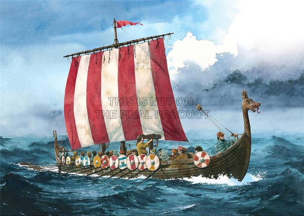 how to make a viking longboat for kids