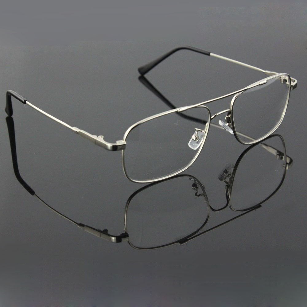 memory titanium flex aviator optical eyeglass frames