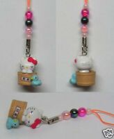Hello Kitty Cosplay Spa with Ducky CellPhone Charm