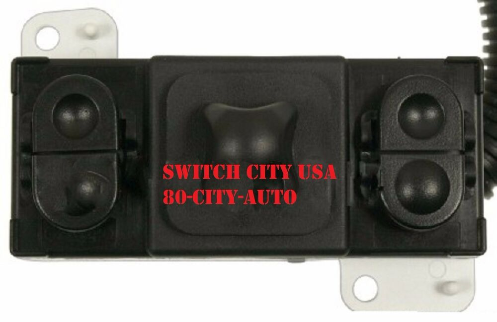 Oem ford explorer mountaineer driver power seat switch for 2000 ford f150 power window switch