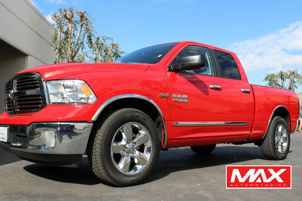 Bsdo603 2009 2017 Dodge Ram 1500 Crew Cab Chrome Side Door