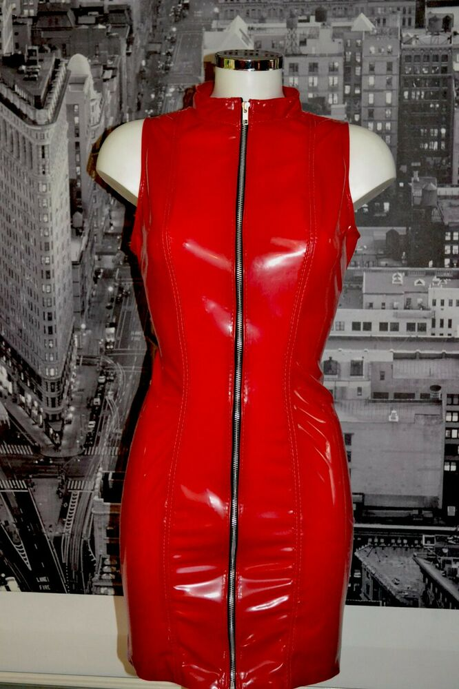 The Federation Rubber Latex Zip Dominatrix Dress All