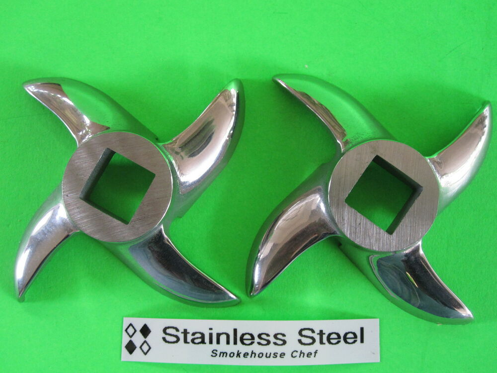 Two Replacement Knife Blades For Turboforce 3000 Series