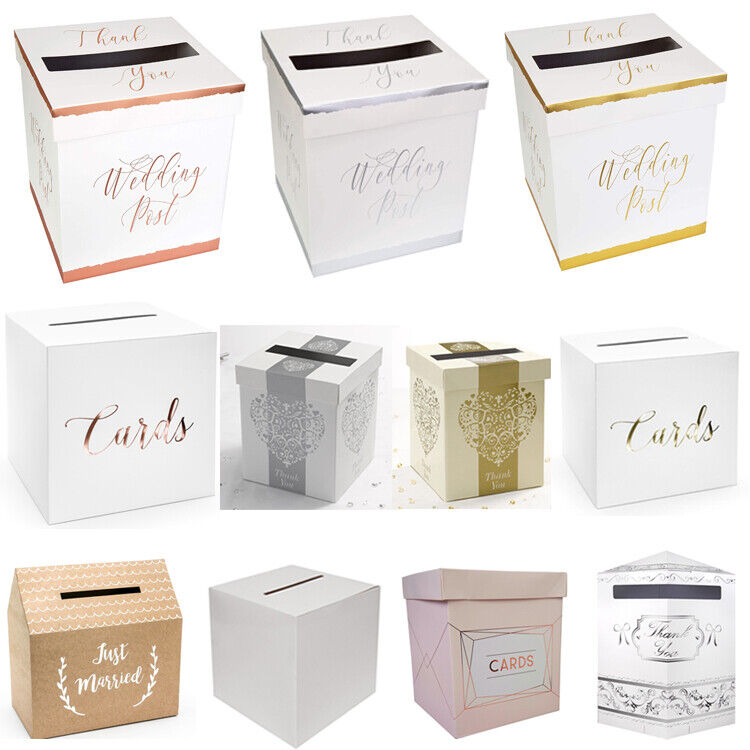 Wedding Gift Post Boxes For Cards: Wedding Card Post Box, Receiving Boxes, Anniversary Or