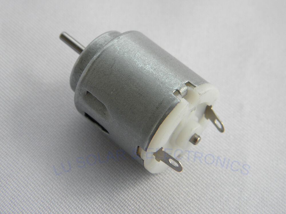 3 6v dc lot of 2 small dc motor 4000rpm hobby for car toy for Small dc fan motor
