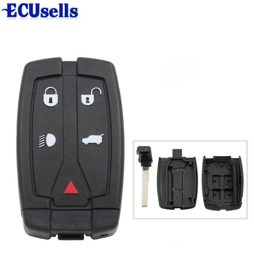 Replacement 5 Button Fob Case For Land Rover Freelander 2